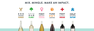 Half bottles with causes